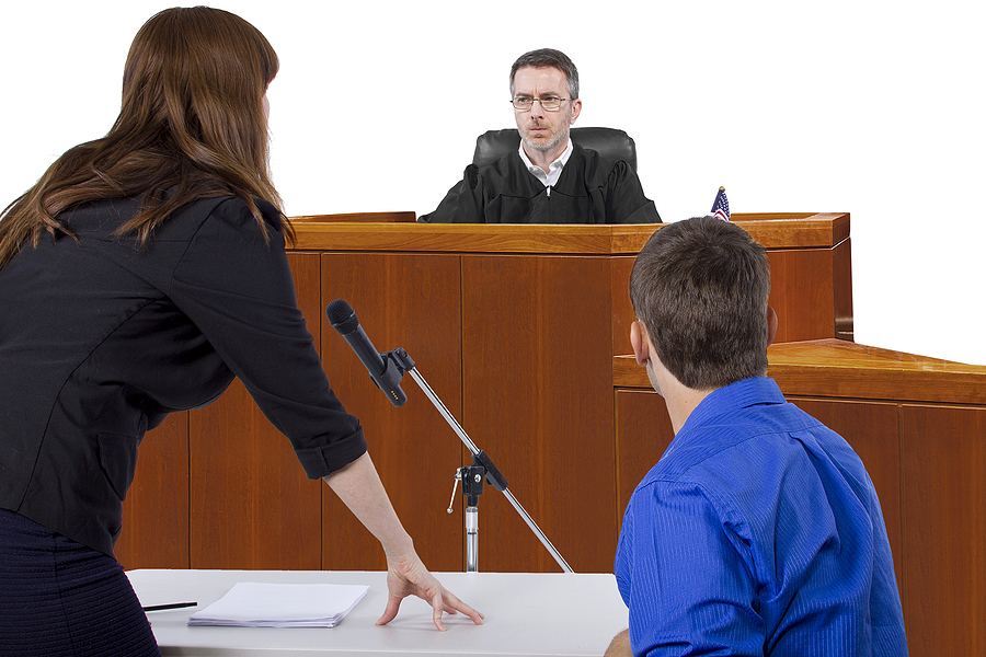 hearing at a court